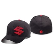 Suzuki S Fade Black/Red Hat